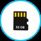 4 - Upto 32 GB Storage